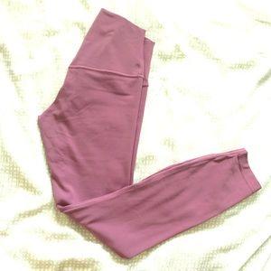 """Lululemon align pants 25"""" size 4 - vintage plum"""